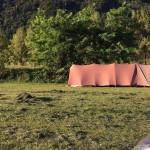 la tente des pionniers