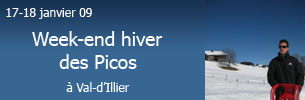 Gallerie Picos WE Hiver 09