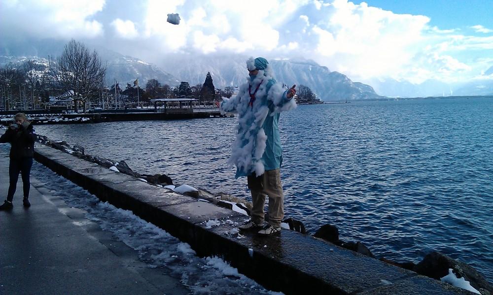 Boules de neige pour le yeti!!!
