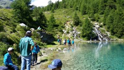 le magnifique Lac Bleu
